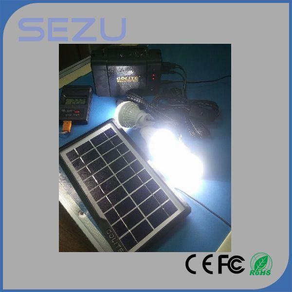 Emergency Lighting, Solar Home System