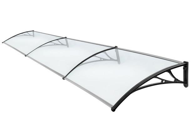 Elegant Shade DIY Solid Polycarbonate Plastic Awning Canopy