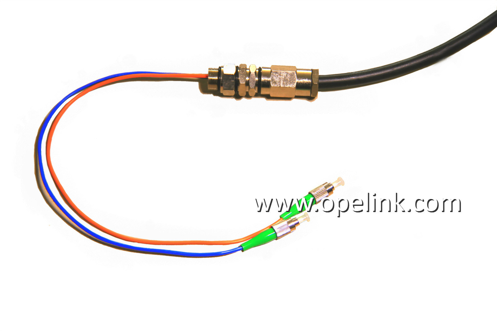 Optical Fiber Waterproof Patch Cord Optical Fiber for CATV /LAN/Test Equipment