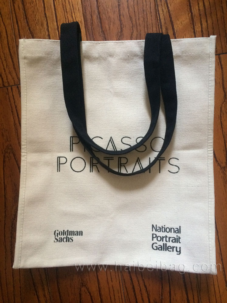 Promotional Canvas Cotton Tote Shopping Bag (hbco-104)
