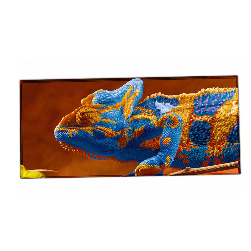 900*400*2mm Large Size Lizard Pattern Pad Gamer Anti-Slip Laptop Mouse Pad Mat