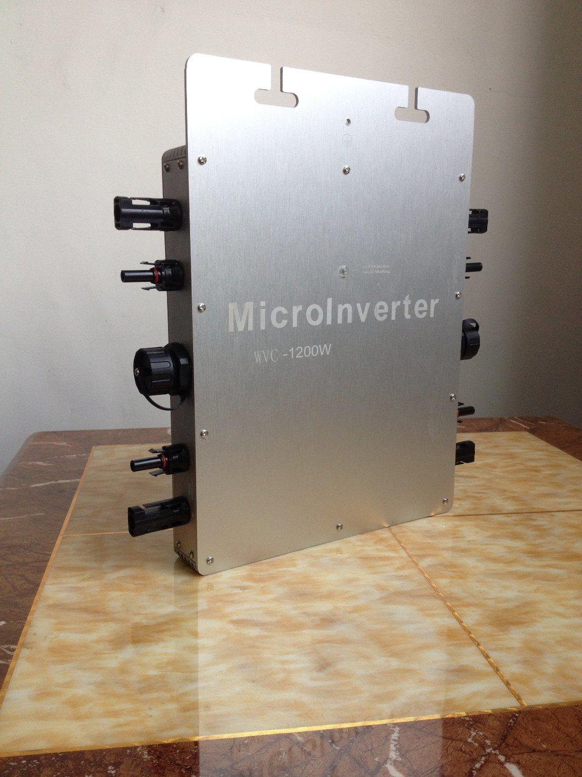 Pure Sine Wave 1200 Watt Waterproof on Grid Tie Solar Micro Power Inverter