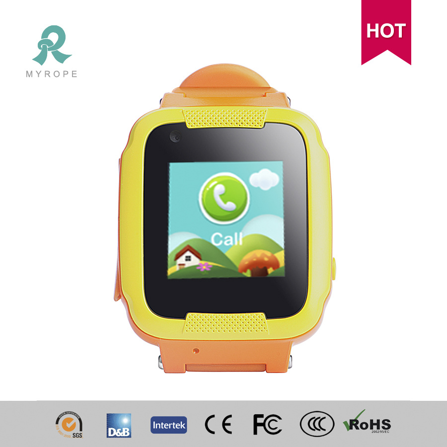 Personal GPS Smart Watch Tracker for Child Colorful Display Water Resistant R13s