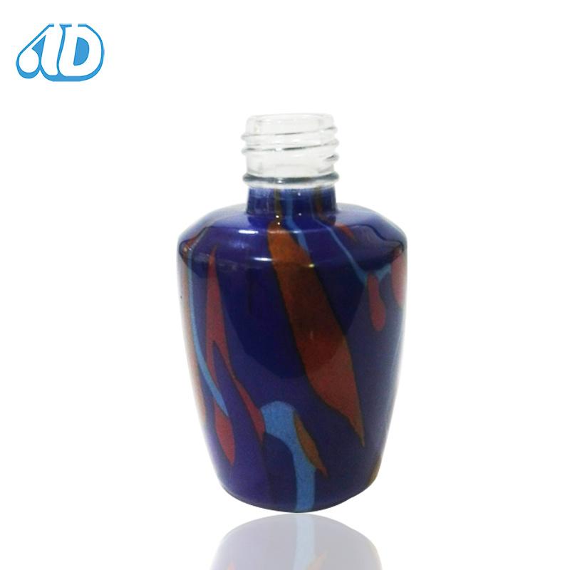 Wholesale New Product Color Pet Nail Polish Glass Bottle 15ml