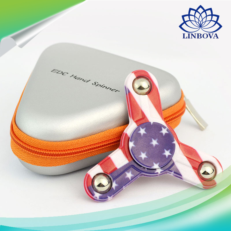 2017 Wholesale High Presicion ABS Plastic Hand Finger Fidget Toy Spinner