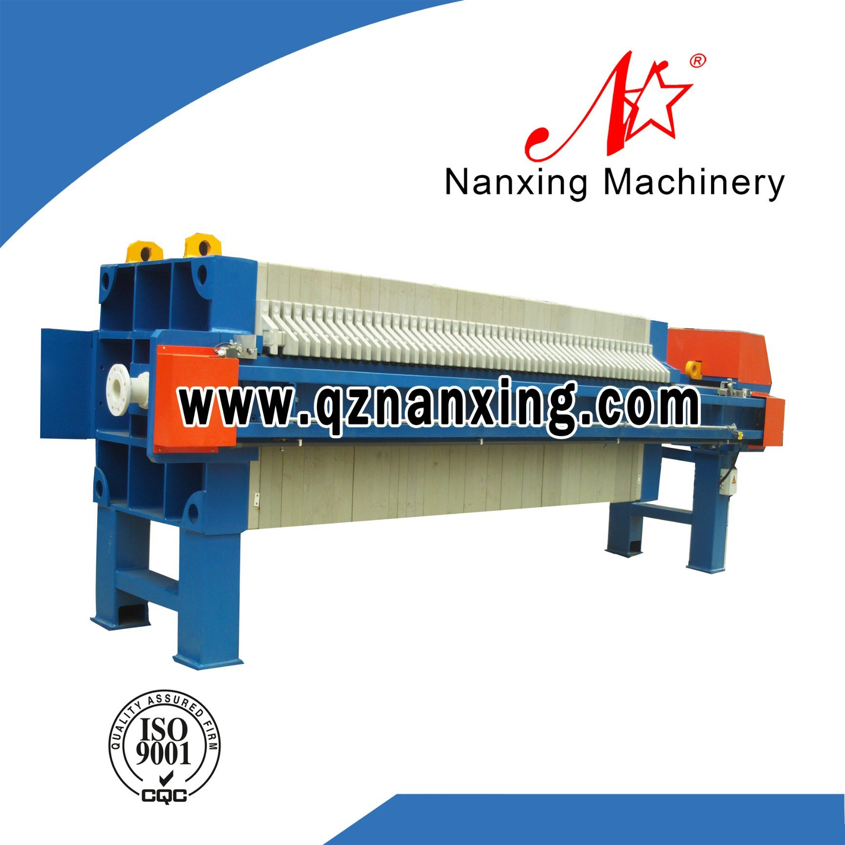 Dyeing Wastewater Treatment Recessed Filter Press