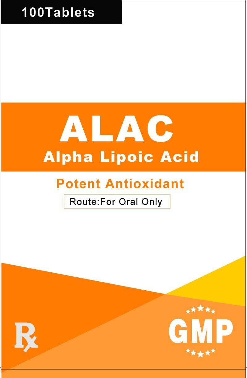 Thioctic Acid (Lipoic Acid) Tablet 50mg GMP Factory