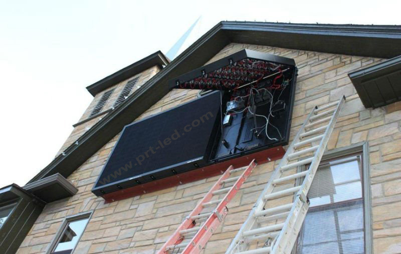 Front Opened Full Color Outdoor SMD P6 LED Screen/LED Sign