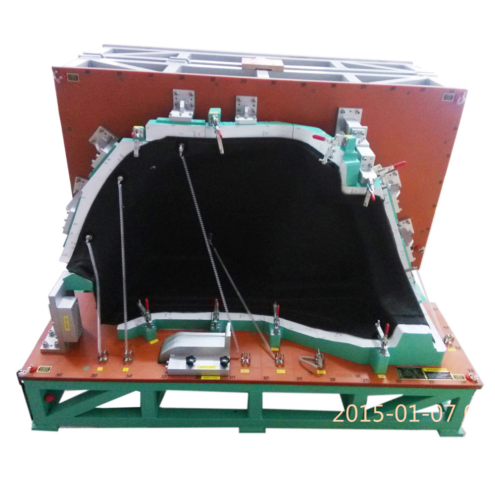 Checking Fixture for Trunk Trim Assembly, Plastic Parts