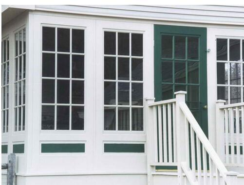 UPVC Window with Colonial Bars Manufacturing PVC Window Hinge PVC/UPVC Window