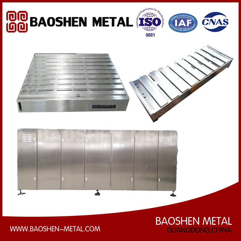 Customized Stainless Steel Equipment Sheet Metal Forming Fabrication Machinery Parts