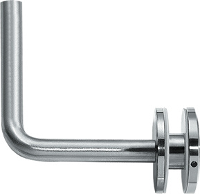 Stainless Handrail Fittings for Glass Cliping Support