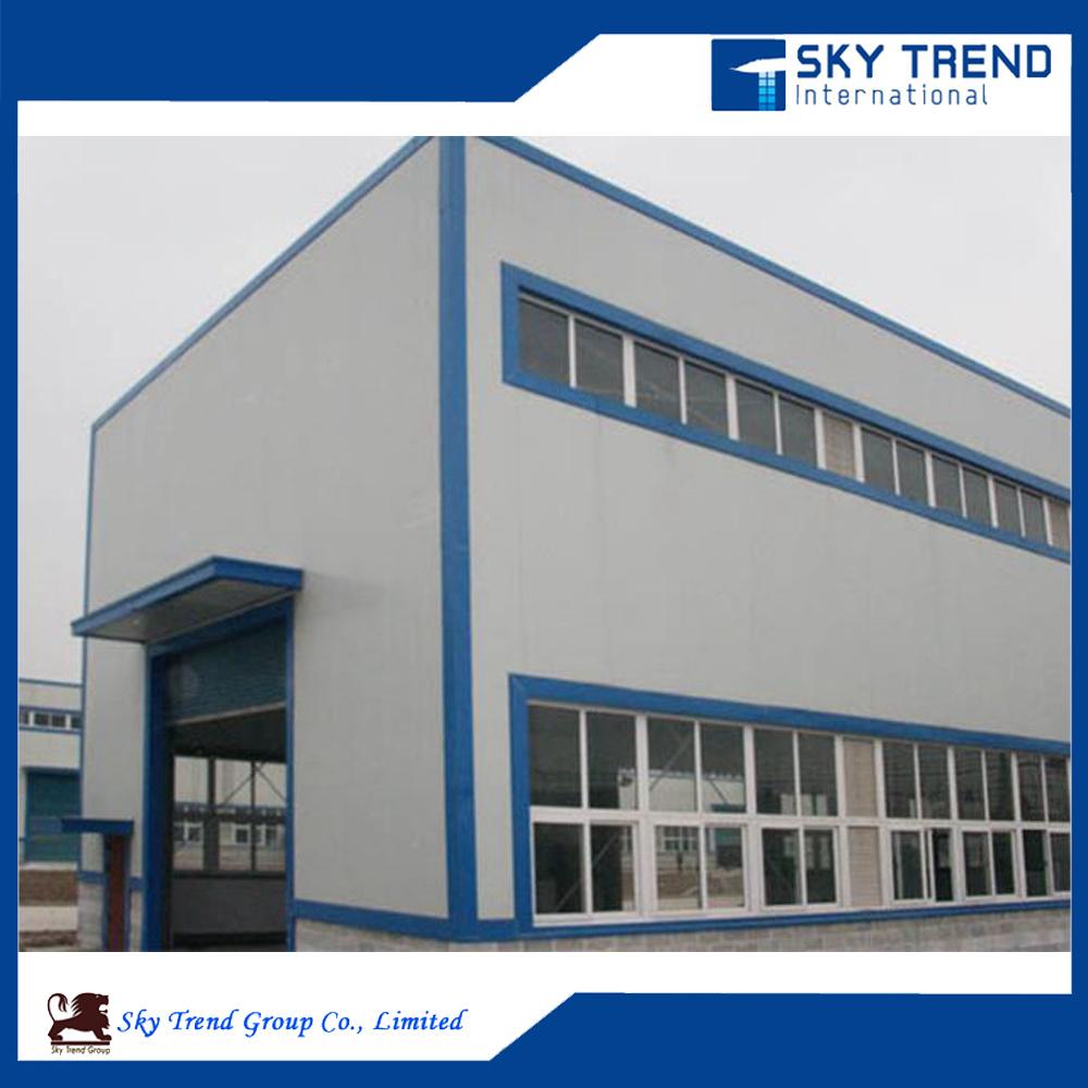 Large Span Prefabricated Steel Structures Industrial Steel Buildings