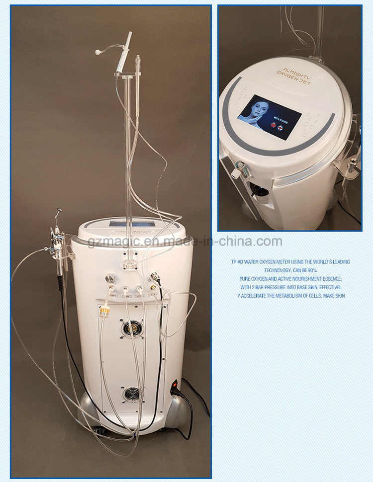 A0627 Oxygen Jet / Multi Function Oxygen / Hyperbaric Oxygen Therapy Facial Machine