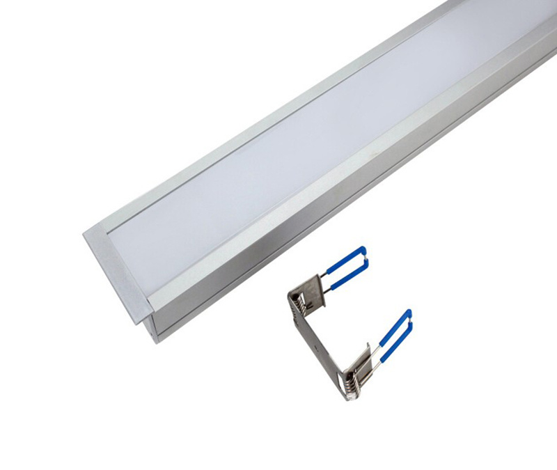 20W Ceiling Mounted LED Linear Lighting 2100lm
