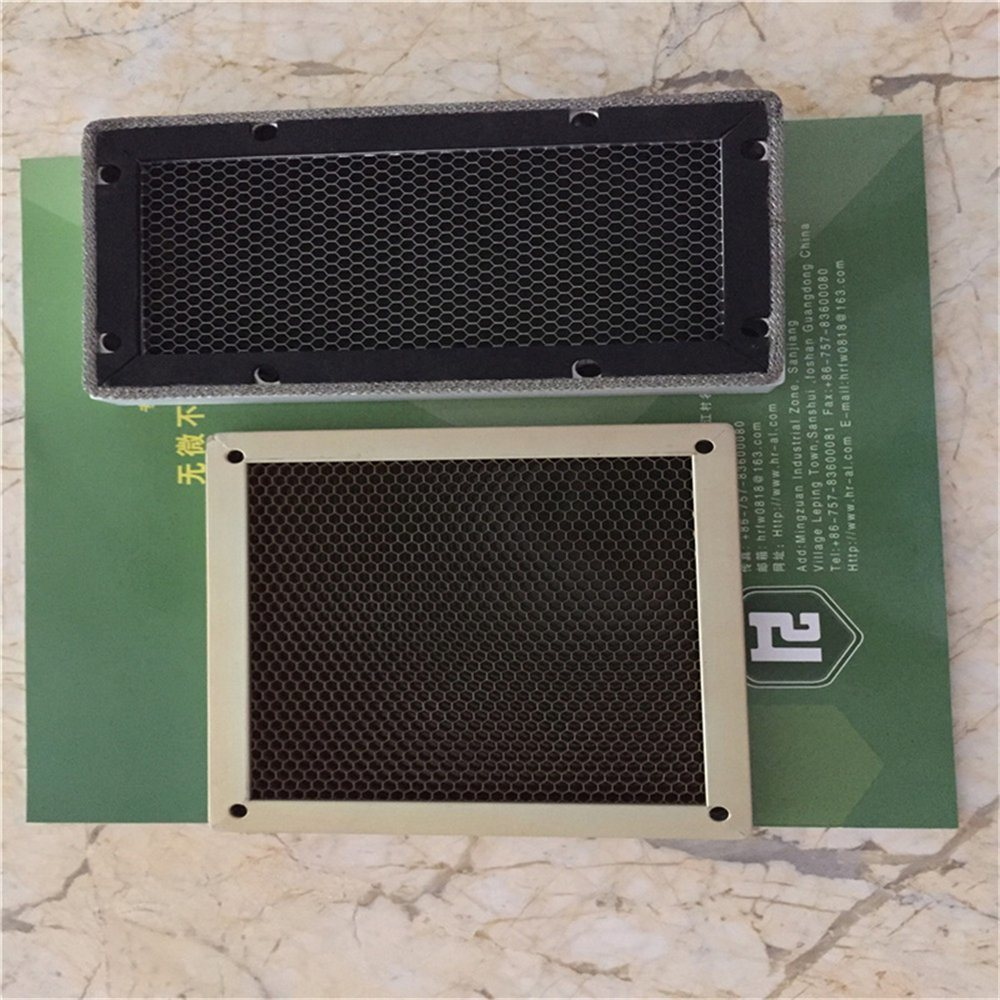 Steel Honeycomb Vent Yellow Chromated (HR341)