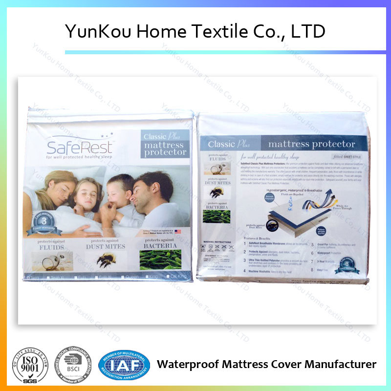 Knitting Waterproof Mattress Protector