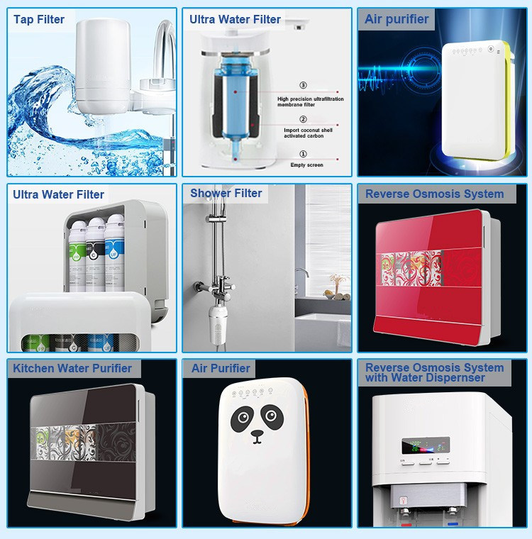 Home, Kitchen Personal Drinking Water Filter, Water Purifier
