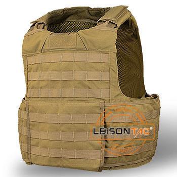 Light Weight Ballistic Vest with Quick Release System Bulletproof Body Amor ISO Standard Nij Iiia