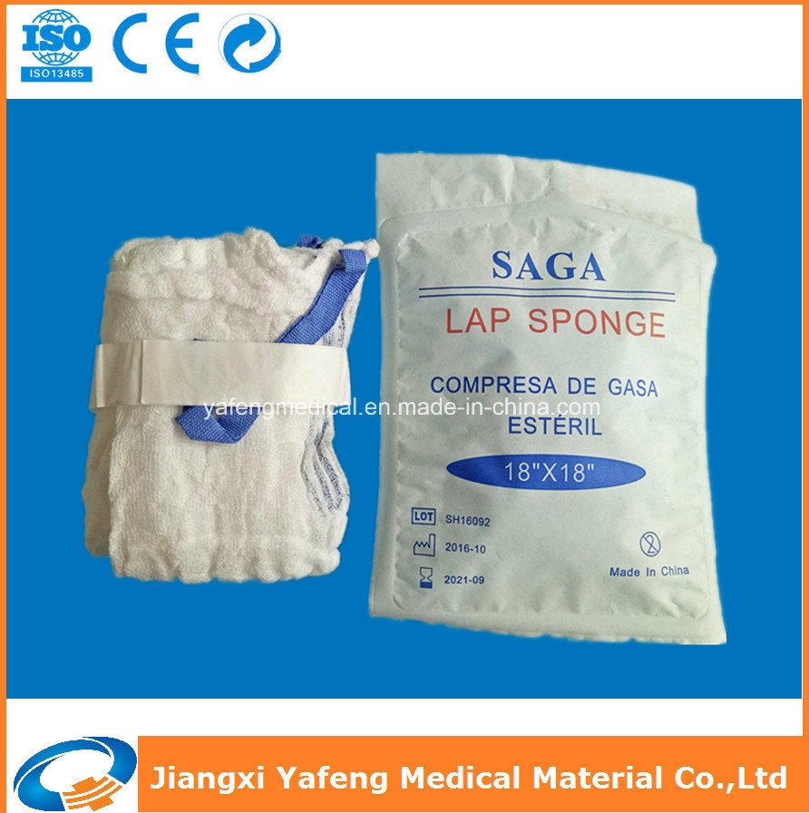 Pure Soft Disposable Medical Surgical Lap Sponge Ce & ISO Approved