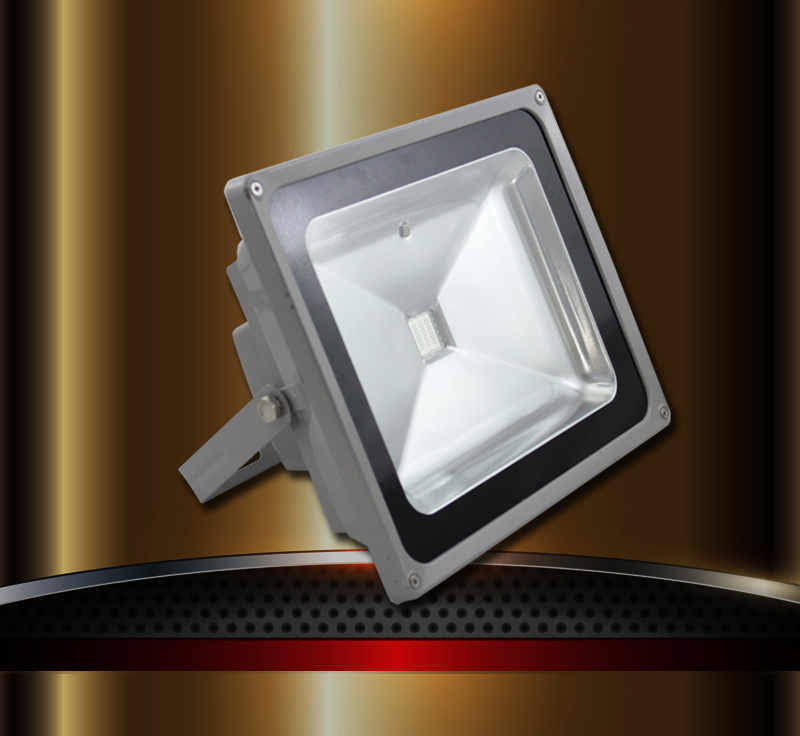 New LED Flood Light Design as Arc Surface 10W-100W