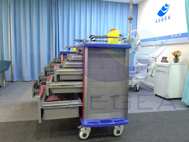 AG-Et001A1 850mm Emergency Trolley Equipment