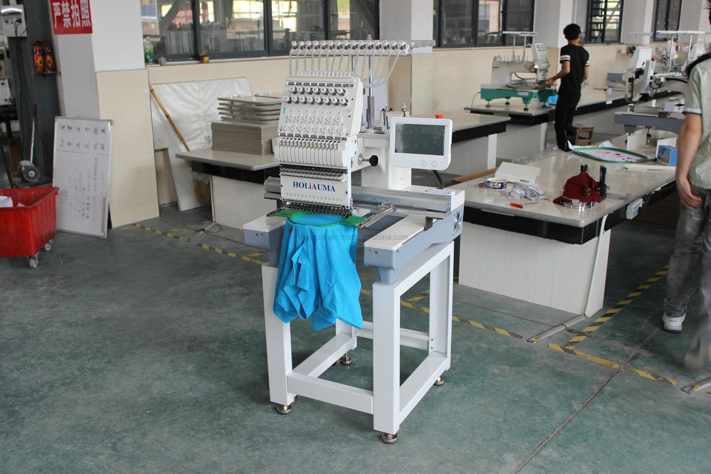 Holiauma Hot Selling Ho1501c 1 Head Computerized Swf Embroidery Machine Prices with High Quality Using for Embroidery Sewing Machine