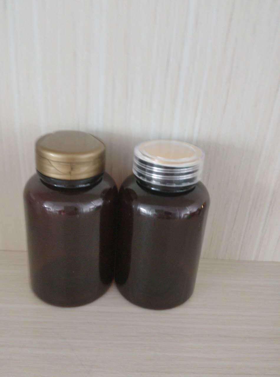 Flip-Top Cap Pet Bottle for Health Care Medicine Plastic Packaging