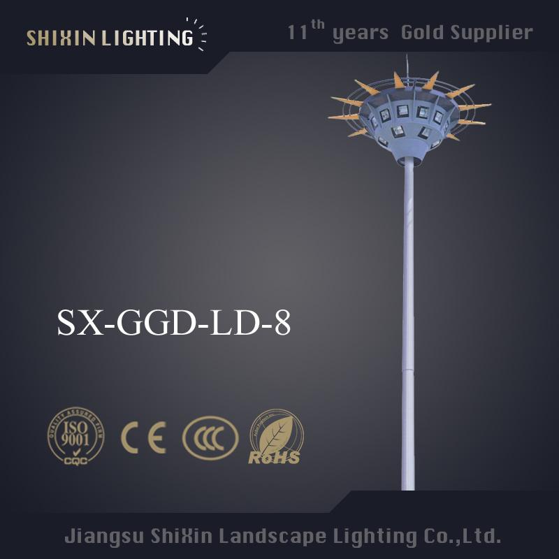 2015 Newest 20m\25m\30m\35m LED High Mast Lighting