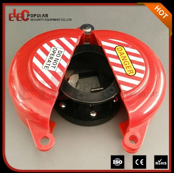 Elecpopular Safety Plug Valve Lockout Fits Round and Square Valve