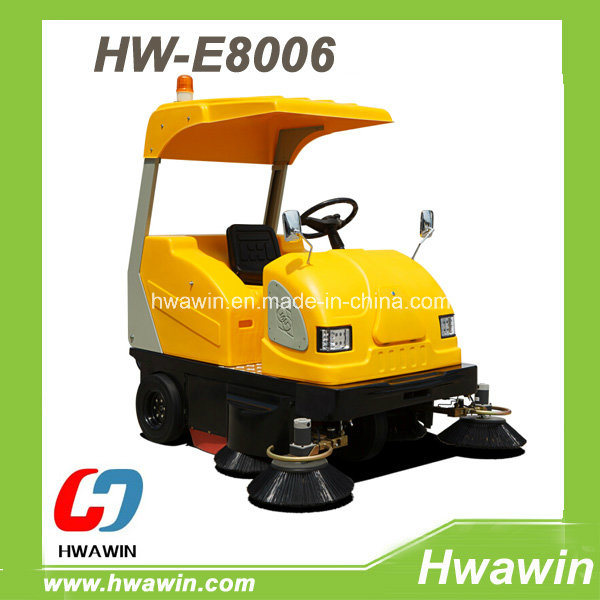 Electric Driving Type Road Sweeping Sweeper Machine