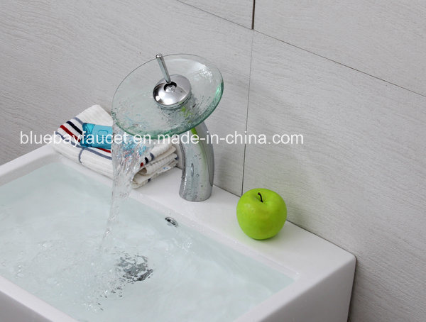 Bathroom Single Handle Glass Basin Mixer