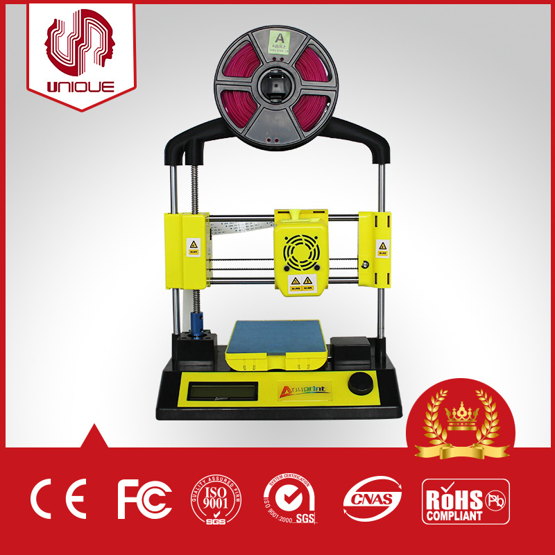 New Generation Cheapest Popular Mini DIY 3D Printer with High Quality