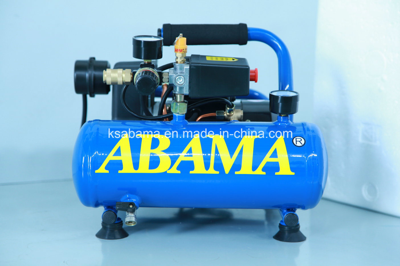 Ta-0304 0.75HP with 4L Tank Frame Oil Free Air Compressor