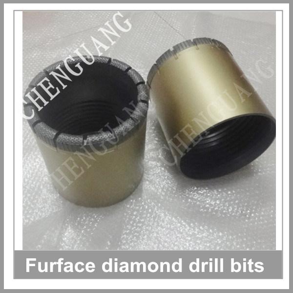 Exploration Core Drilling Bit, Impregnated Core Bit, Diamond Drill Bit for Hard Rock