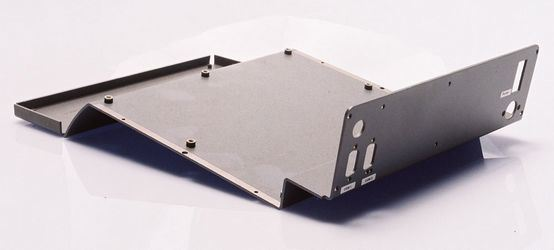 Customized Sheet Metal Fabrication Aluminum Parts for Computer Housing