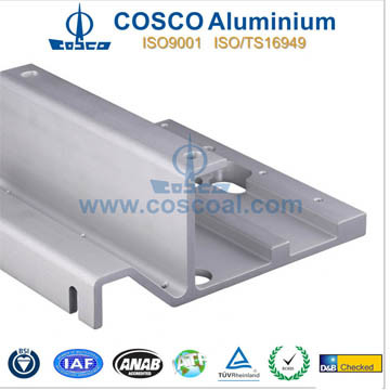 Competitive OEM Aluminum Profile Extrusion for Amplifer with CNC Machining