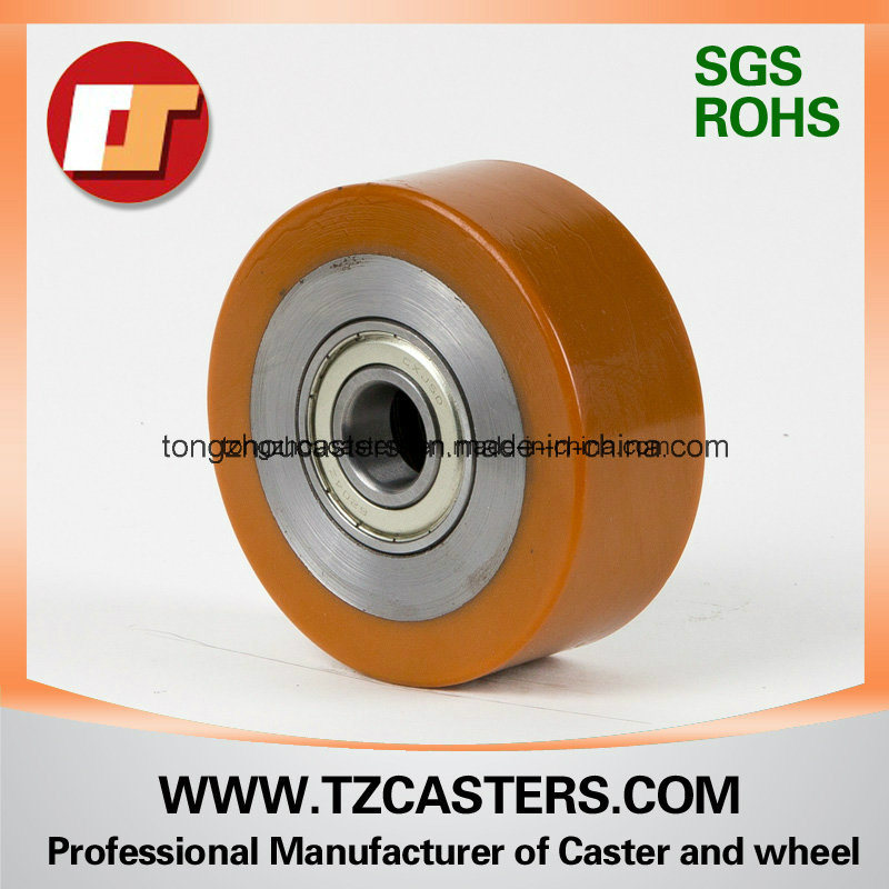 PU Roller with Steel Rim 100*40