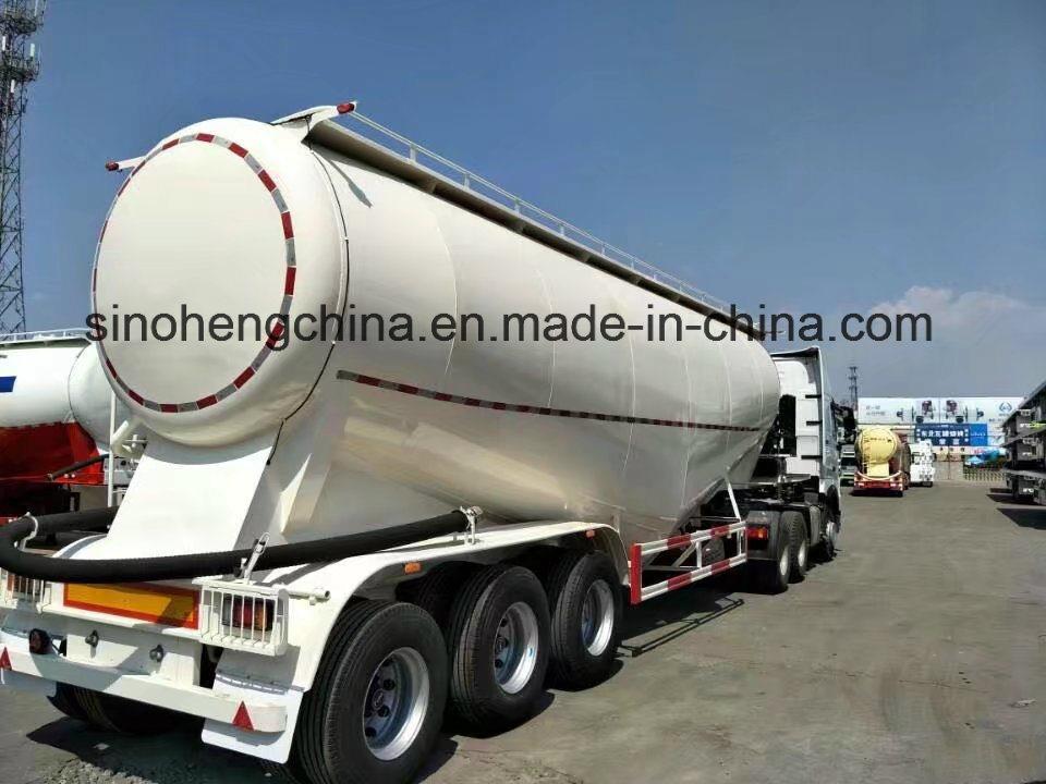 China Factory Price Bulk Cement Tanker Semi Trailer for Sale