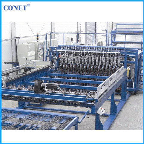 Factory Price Semi-Automatic Panel Fence Mesh Welding Machine (HWJ2000 with line wire and cross wire 3-8mm)