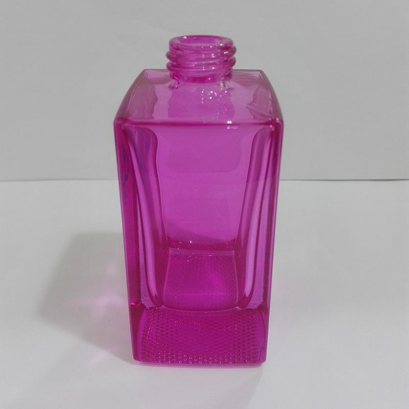 Ad-P89 Square Shape Spray Glass Perfume Bottle
