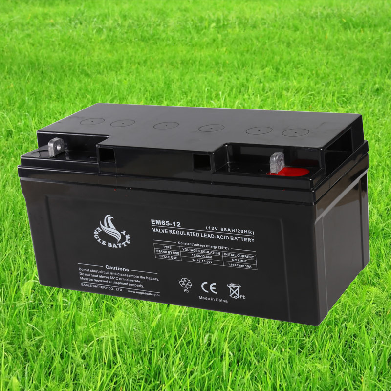 12V 65ah Power Supply VRLA Mf AGM Storage Sealed Lead Acid Rechargeable Battery