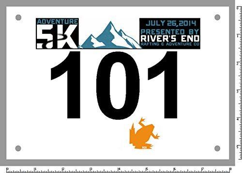 Sport Events Running Marathon Custom Tyvek Paper Cheap Bib Numbers