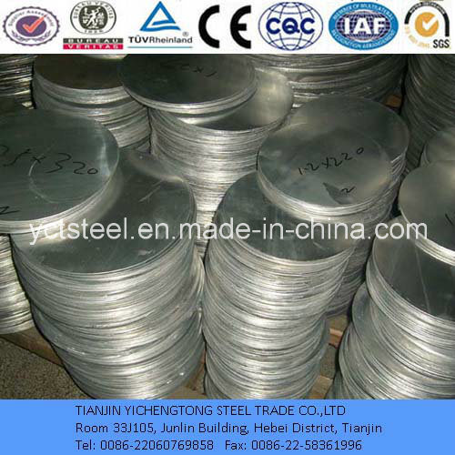 430 Stainless Steel Circles for Electric Equipment