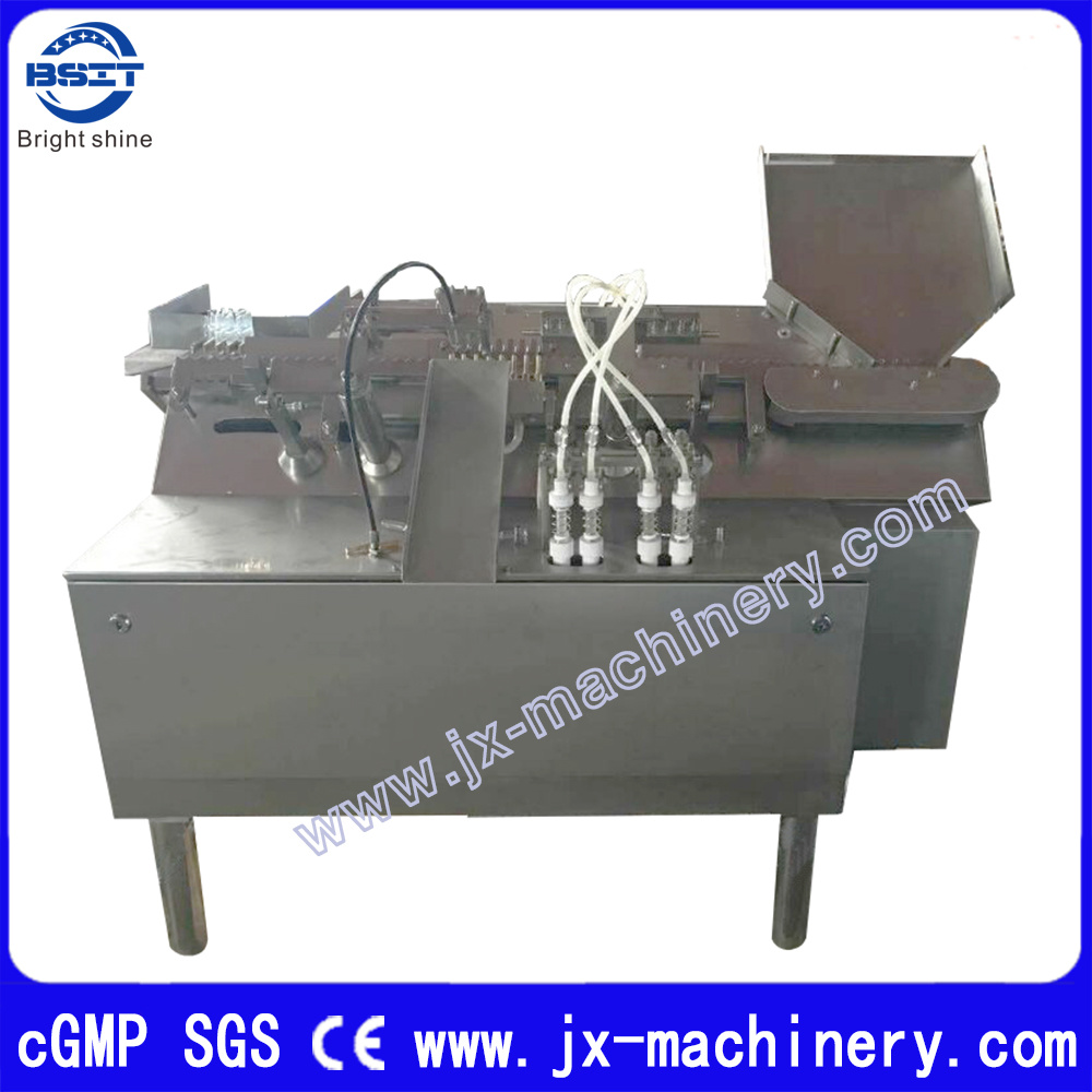 Pharmaceutical Machinery 4 Filling Heads Ampoule Filling Sealing Machine (ALG1-2ml)