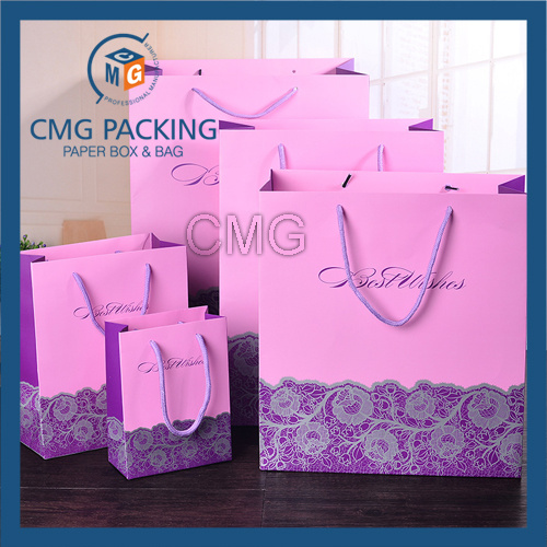 Wedding Candy Packing Bag with Ribbon (CMG-MAY-058)
