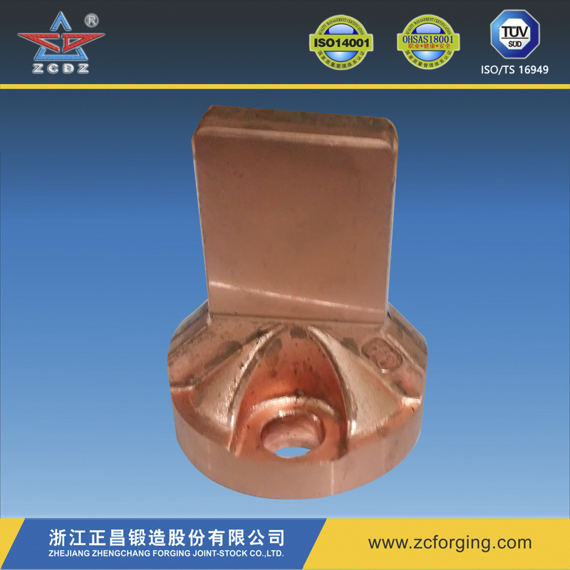 Copper Elbow for Auto Part by Hot Forging