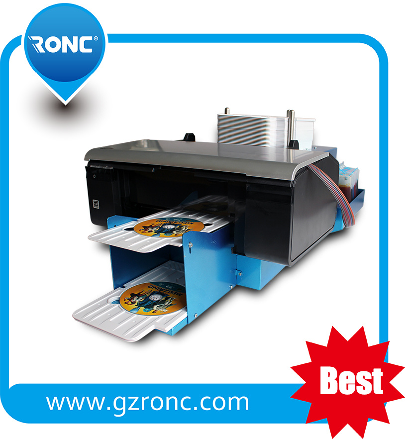 New Multicolor Auto DVD Printer with 50 Trays Printer for CD DVD
