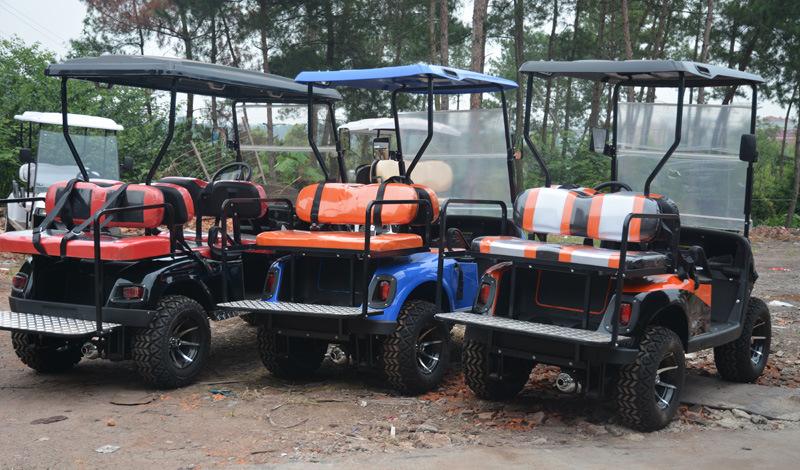 250 Cc CF Motor Gas Powered Sport Utility Golf Cart