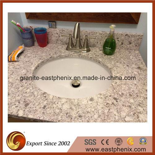 Competitive Price White Quartz Stone Vanity Top
